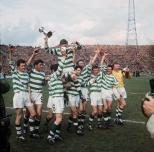 Celtic versus Dunfermline 1965