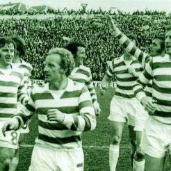 1973, winning league at Easter Road