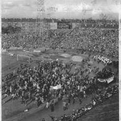 26th May 1967 Lions and Coatbridge Shamrock Accordion band