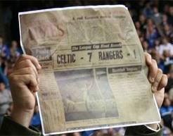 7 1 modern fan holding newspaper