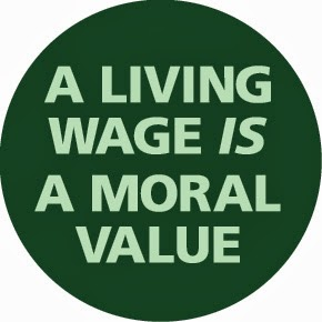 A living wage is a moral value