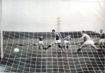 Bertie Auld scoring against Rangers at CP