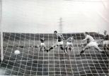 Bertie Auld scoring against Rangers at CP