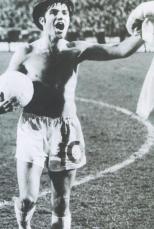 Bertie Auld with hat