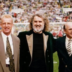 Billy Connolly and Tommy Burns and Fergus McCann