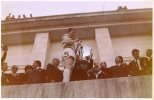Billy McNeill, Lisbon, big cup fan pic from below, great quality in colour