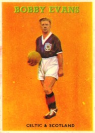 Bobby Evans cig card