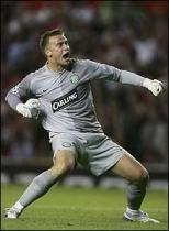 Boruc celebrates v man U away