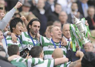 Broony with the Cup