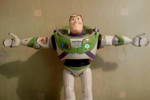 Buzz does the Broony