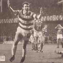 Cascarino scores at Ibrox
