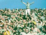 Celtic fans away terrace 1998