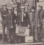Celtic fans, hats, scarves and tea towels late 60s