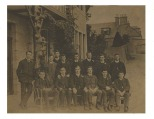 Celtic team in Vienna 1911 sepia polished