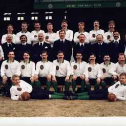 Centenary season squad and directors in 1888 outfits