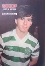 Charlie Nicholas poster hoops