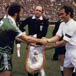 Danny McGrain v Real Madrid