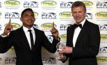 Emilio Izaguerri and David Moyes player of the year