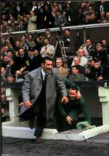 Fallon and Mochan celebrate from dug out