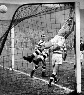 FrankHaffey1959 monkey on goals