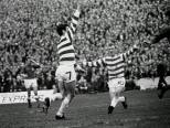 George Connelly celebrates 1969 cup final