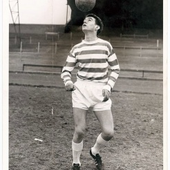 George Connelly young heading ball tricks