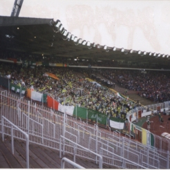 Hamburg 1996 Celtic fans in ground3