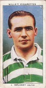 Jimmy Delaney cigarette card