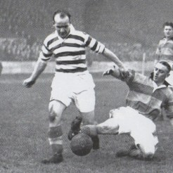 Jimmy Delaney scan v Partick Thistle