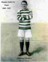 Jimmy Quinn colour portrait standing