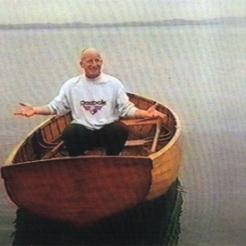 Jinky and oars