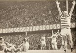 Jinky at Ibrox celebrating 1968