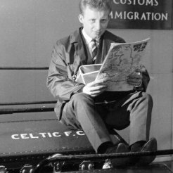 Jinky looking forward to plane