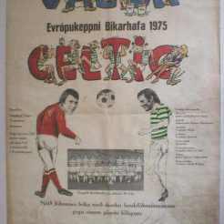 Johannes Edvaldsson match poster Valur
