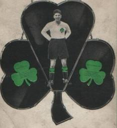 John Thomson shamrock memorial shield