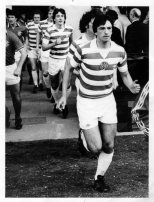 Johnny Doyle 4 2 game players running out what a face