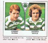 Johnny Doyle and TB sticker