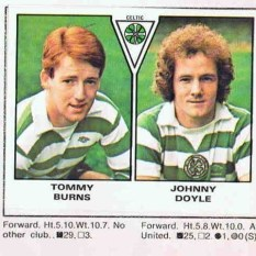 Johnny Doyle and TB sticker
