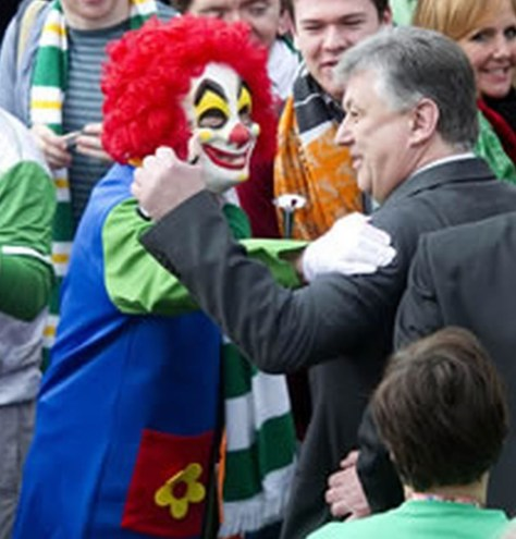 P Lawwell and Ronald McDonald