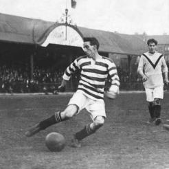 Patsy Gallacher v Airdrie 1925