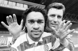 Paul Elliot and Packie Bonner