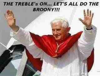 Pope Benny does Broony
