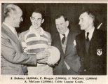 Thousand goalscorers Delaney, Brogan, McGrory and McLean