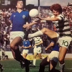 Tommy Burns v Rangers at Hampden