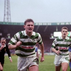 Tony Mowbray celebrates v Rangers at CP