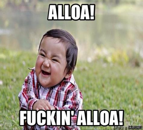 Alloa . . . fucking alloa