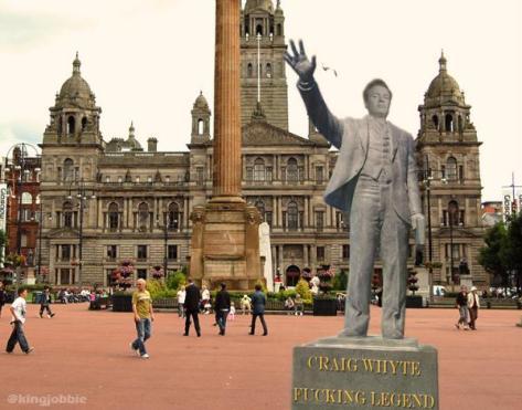 Craig Whyte Statue
