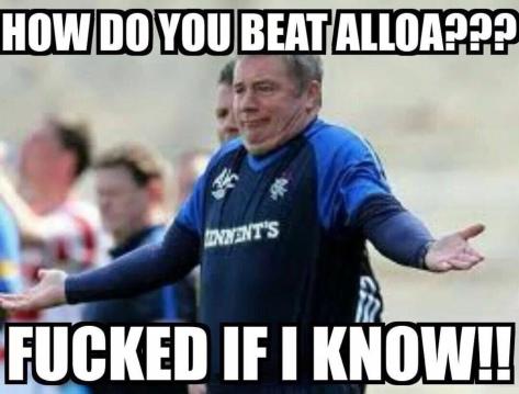 How to beat Alloa