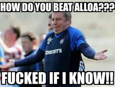 How to beat Alloa