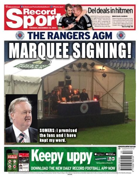 Marquee Signing